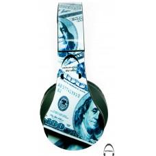 Big Money Over-Ear Bluetooth Wireless Headphones