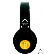 Bitcoin Over-Ear Bluetooth Wireless Headphones