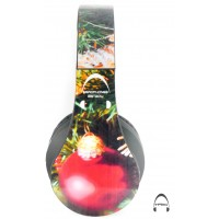 Christmas Ornaments Over-Ear Bluetooth Wireless Headphones
