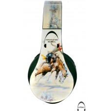 Western Cowboy Over-Ear Bluetooth Wireless Headphones