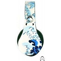 Great Wave off Kanagawa Over-Ear Bluetooth Wireless Headphones