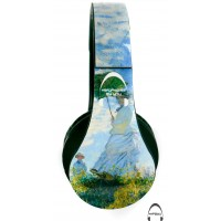 Monet's Woman with a Parasol Over-Ear Bluetooth Wireless Headphones