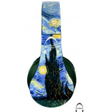 Van Gogh's Starry Night Over-Ear Bluetooth Wireless Headphones