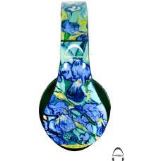 Van Gogh's Irises Over-Ear Bluetooth Wireless Headphones